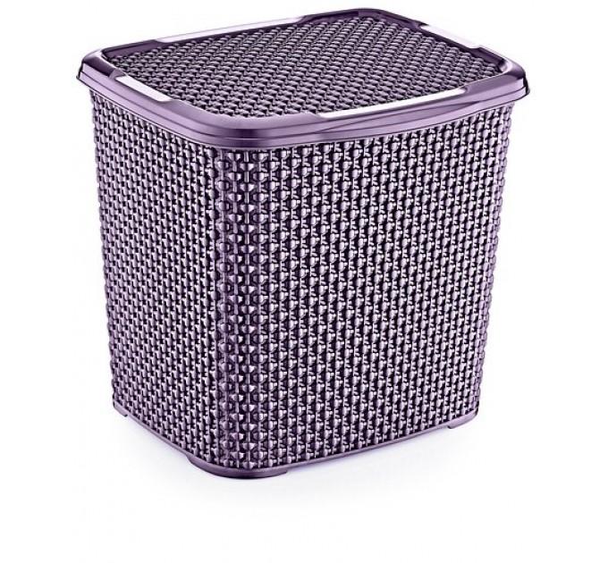 Контейнер для стирального порошка OZ-ER PLastik HONEYCOMB 6.2л, фиолетовый (N010-X88) - фото № 1