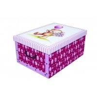 Короб для хранения вещей Miss Space Maxi 51*37*24см, Orsacchiotto Rosa (7020)