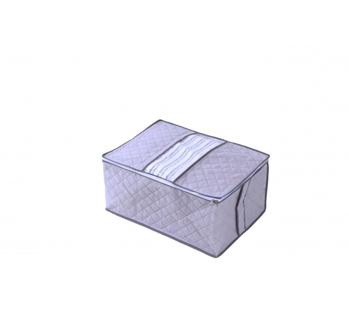 Чехол для хранения объемных вещей Тарлев 35*50*25см, серый (16046)