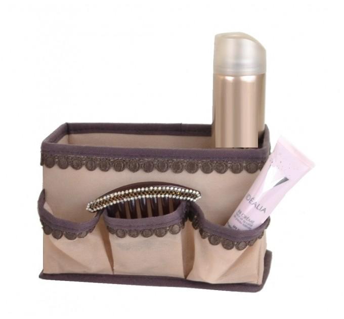 Короб с ячейками для хранения Тарлев 20*12*13см, бежевый (01-BG)