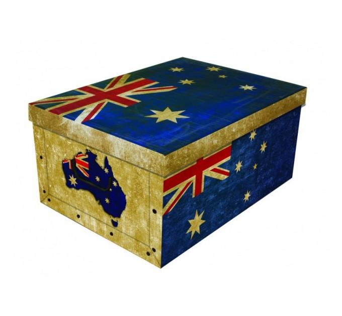 Короб для хранения вещей Miss Space Maxi 51*37*24см, Big Flags England (7064) - фото № 1