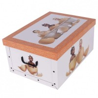 Короб для хранения вещей Miss Space Maxi 51*37*24см, Babies in Eggs (7040)
