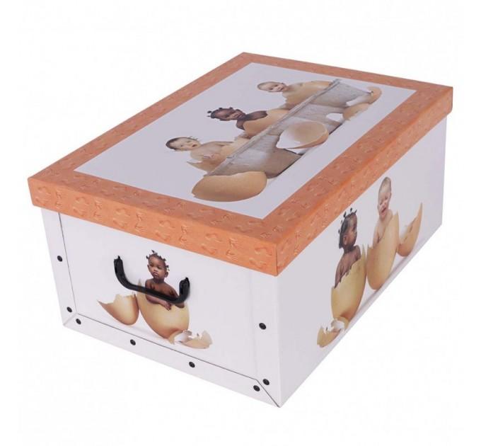 Короб для хранения вещей Miss Space Maxi 51*37*24см, Babies in Eggs (7040) - фото № 1