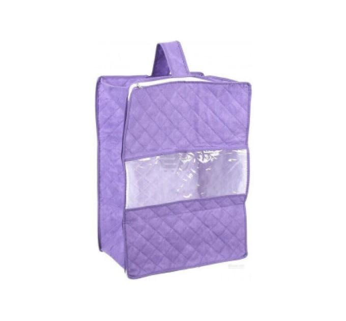 Чехол для хранения объемных вещей Тарлев 35*50*25см, фиолетовый (16060)