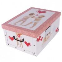 Короб для хранения вещей Miss Space Maxi 51*37*24см, Babies in Love (7034)