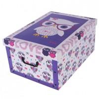 Короб для хранения вещей Miss Space Maxi 51*37*24см, Cute Owls (7065)