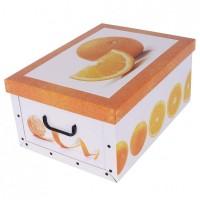Короб для хранения вещей Miss Space Maxi 51*37*24см, Orange (7051)