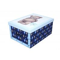 Короб для хранения вещей Miss Space Maxi 51*37*24см, Orsacchiotto Azzurro (7019)