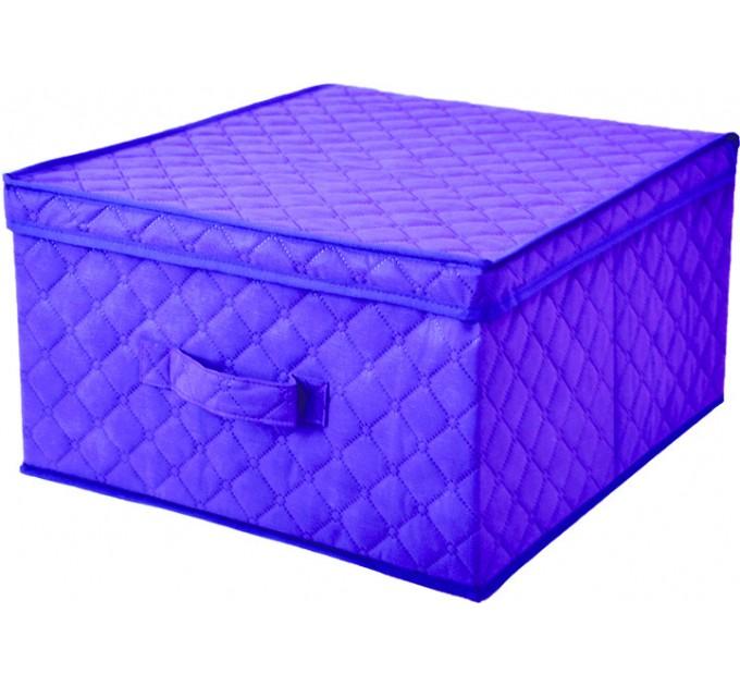 Короб для хранения вещей Тарлев 58*30*25см, фиолетовый (1514)
