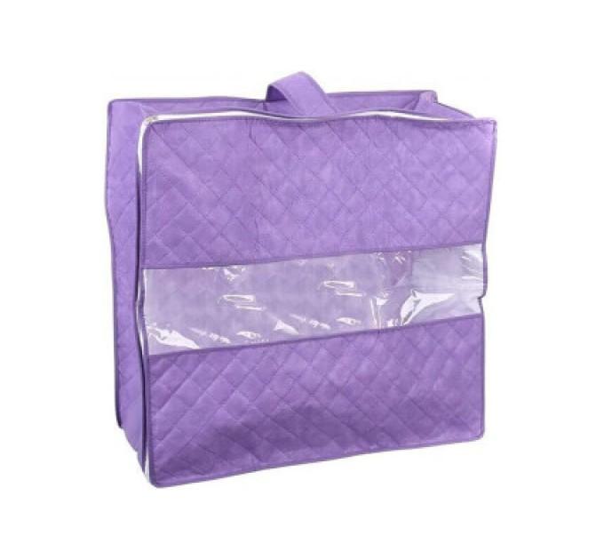 Чехол для хранения объемных вещей Тарлев 55*55*25см, фиолетовый (16053)