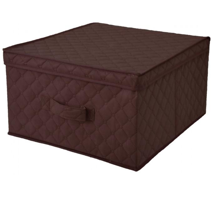 Короб для хранения вещей Тарлев 43*47*25см, коричневый (1501) - фото № 1