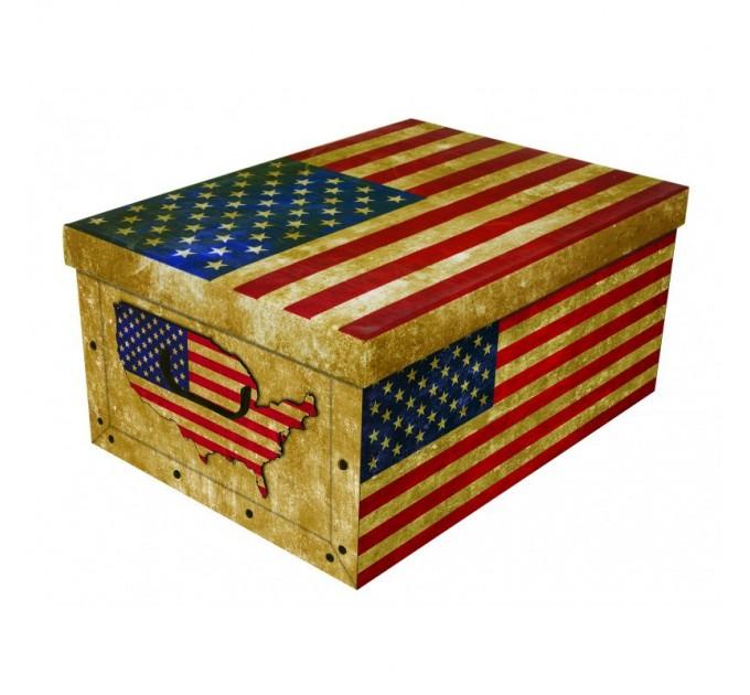 Короб для хранения вещей Miss Space Maxi 51*37*24см, Big Flags America (7062)