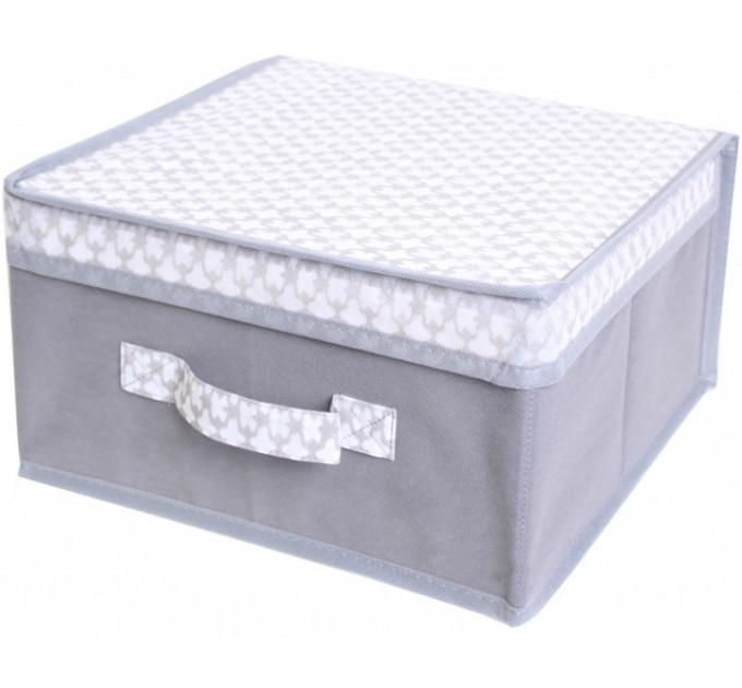 Короб для хранения вещей Тарлев 30*30*30см, French Grey (485494) - фото № 1