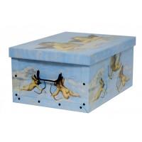Короб для хранения вещей Miss Space Maxi 51*37*24см, Angeli Azzurro (7012)