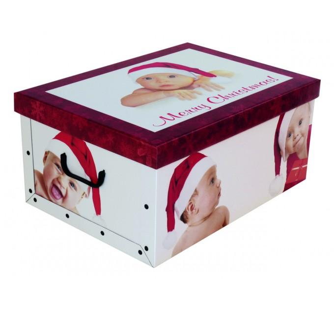 Короб для хранения вещей Miss Space Maxi 51*37*24см, Christmas Babies (7053) - фото № 1