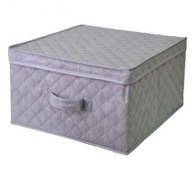 Короб для хранения вещей Тарлев 43*47*25см, серый (1505)