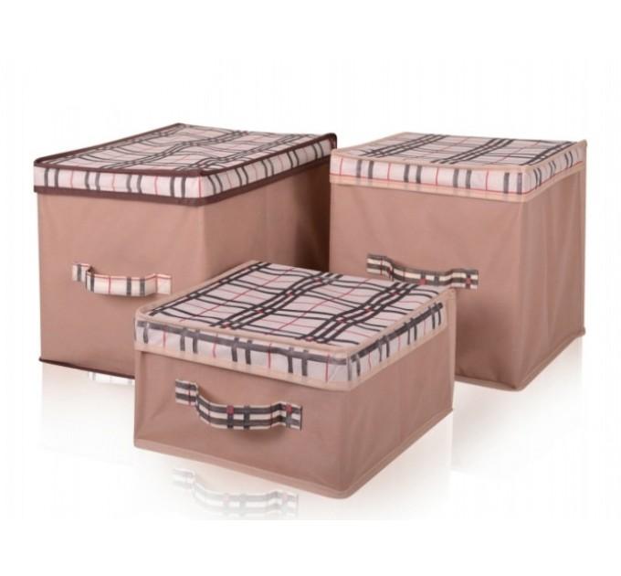 Короб для хранения вещей Тарлев 43*47*30см, Beige (4418)