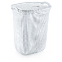 Корзина для белья OZ-ER PLastik HONEYCOMB 63л, белый (N008-X24)