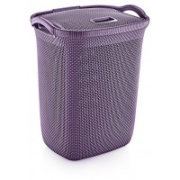 Корзина для белья OZ-ER PLastik HONEYCOMB 63л, фиолетовый (N008-X88)