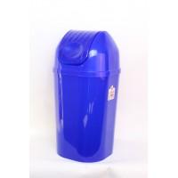 Корзина для белья Ramacciotti Plast DINDON 50л, синий (110/blue)