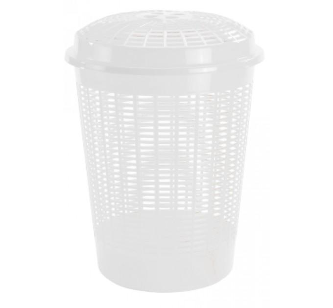Корзина для белья Ramacciotti Plast PABLO 60л, белый (1340/white)