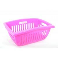 Корзина Ramacciotti Plast BILLY прямоугольная 25л, розовый (111/pink)