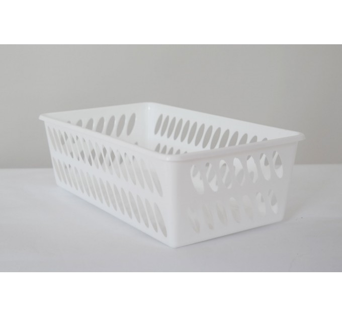 Корзина ММ-Пласт 260*370*130мм, белый (BoxMM4/white) - фото № 1