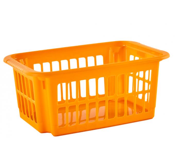 Корзина Алеана 10л, светло-оранжевый (122058) - фото № 1