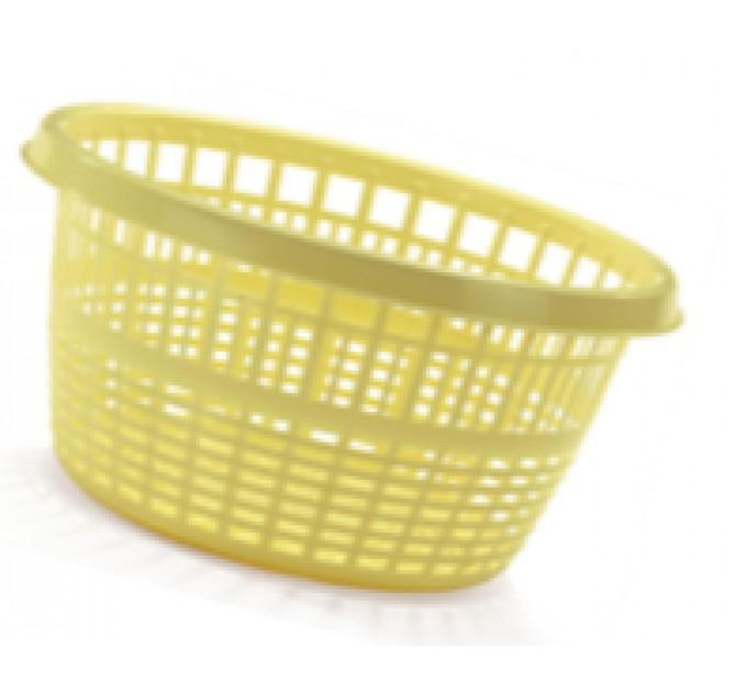 Корзина Ramacciotti Plast CHICO круглая 10л, зеленый (1150/green)