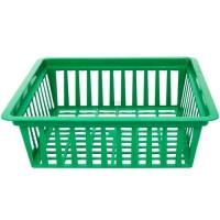 Корзина для луковиц Алеана 25.2*27.7*7.2см, зеленый (119094)