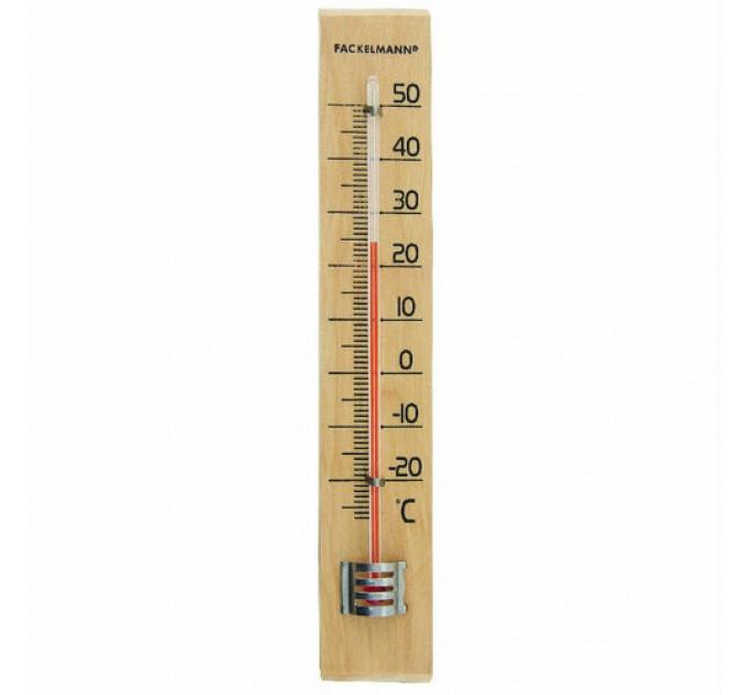Термометр уличный Fackelmann 18см, древесина (16365) - фото № 1