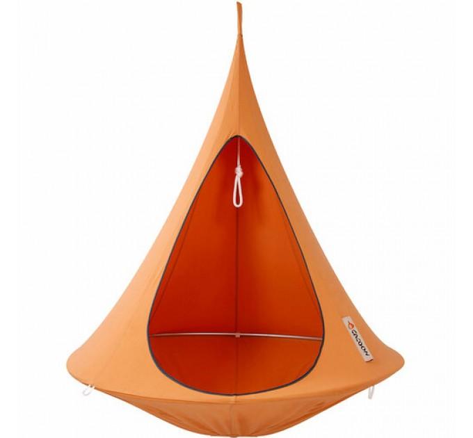 Подвесное кресло-качель CACOON Single, оранжевый (SM003_Single) - фото № 1