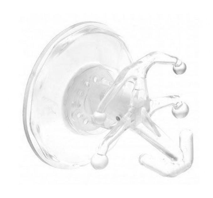 Крючок на присоске Gimi Bingo, прозрачный (GM08632)