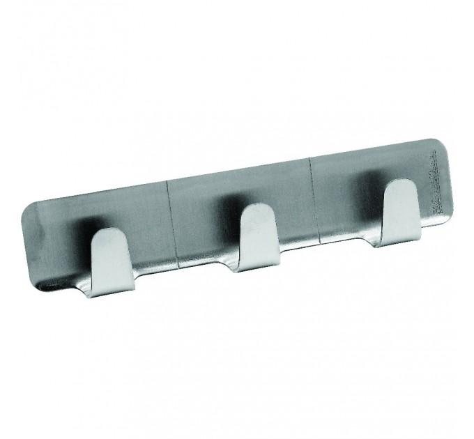 Крючки Fackelmann на клейкой основе 12см, 3 шт, сталь (61283) - фото № 1