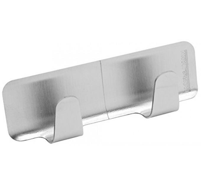 Крючки Fackelmann на клейкой основе, прямоугольные 8 см, 2 шт, сталь (61282) - фото № 1