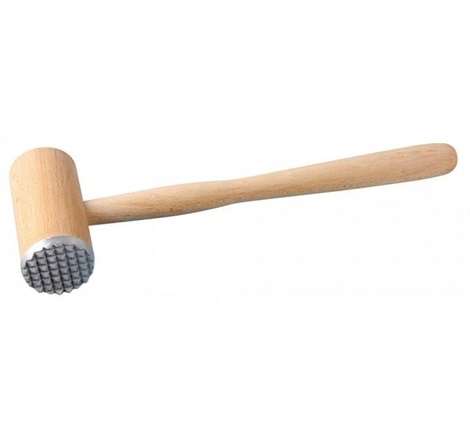 Молоток для отбивания мяса Fackelmann 32 см, древесина/сталь (31440) - фото № 1
