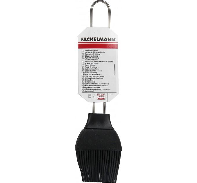 Кисточка кулинарная Fackelmann 20.5см, сталь/силикон (42754) - фото № 1