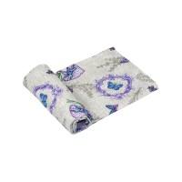 """Полотенце вафельное РУНО 35х70 """"Lavender"""""""