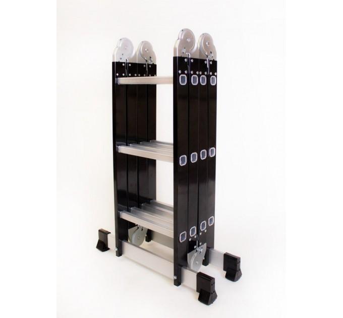 Лестница трансформер Aloft комбинированная 4х3 (MLS-43)