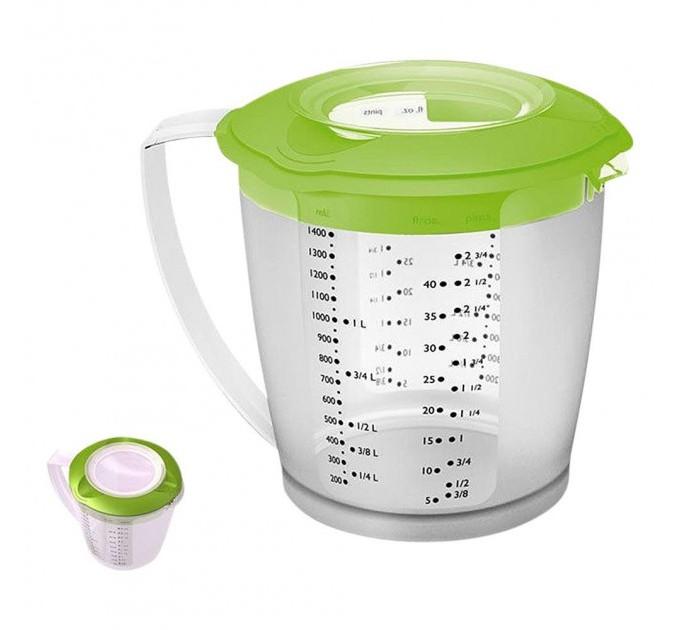 Мерная чаша для миксера с крышкой Helena Westmark 1.4 л, зеленый (W3105227A) - фото № 1