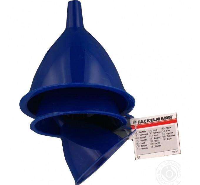 Воронки Fackelmann 3 шт D 7, 9, 10 см, пластик (21566) - фото № 2