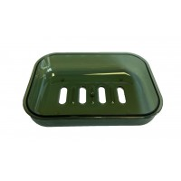 Мыльница Eco Fabric CUBE, прозрачно-зеленая (TRL-9021-TG)