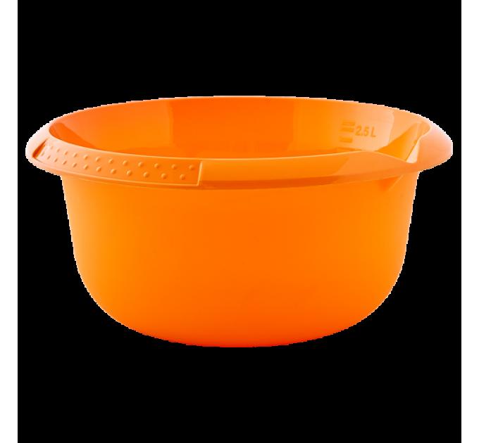 Миска Алеана 1.75л, светло-оранжевый (167005) - фото № 1