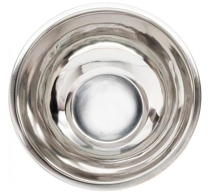 Миска Fackelmann с крышкой D12 см, сталь/пластик (28626)