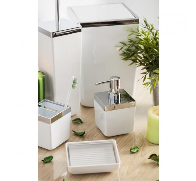 Набор аксессуаров в ванную комнату Prima Nova TOSCANA, белый (SAS01-01)