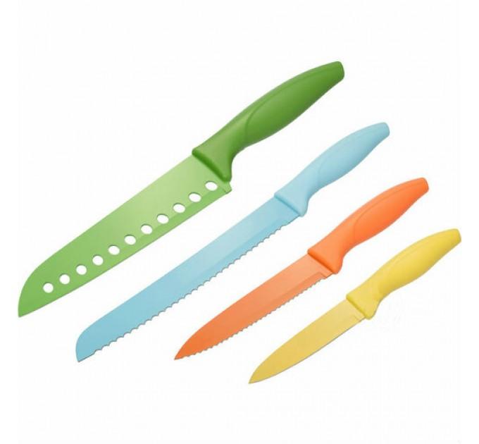 Набор ножей кухонных Fackelmann 4 шт, сталь/пластик (685201) - фото № 1