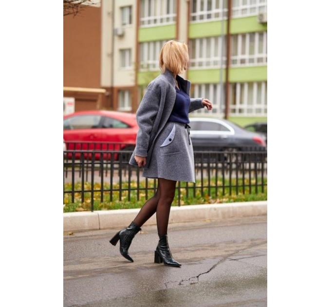 Куртка из шерсти на флисе Италия Lavanda (V03-04/1-K) - фото № 5