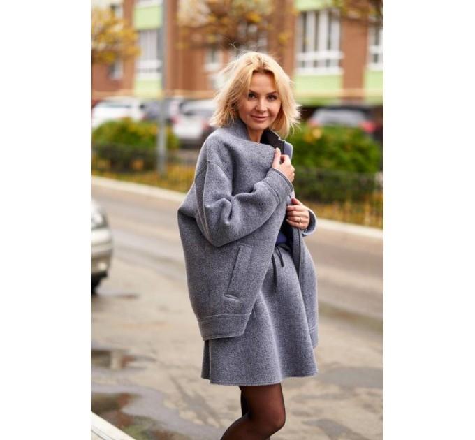 Куртка из шерсти на флисе Италия Lavanda (V03-04/1-K) - фото № 2