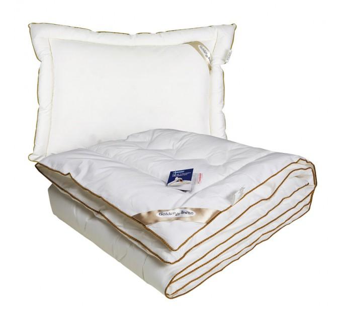 "Комплект РУНО ""GOLDEN SWAN"" одеяло и подушка - фото № 1"