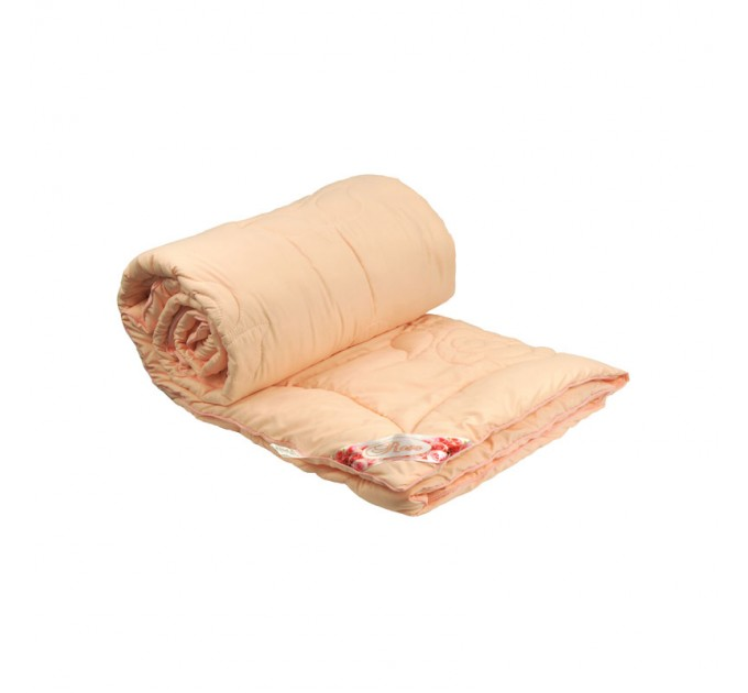 "Одеяло РУНО 140х205 ""Rose Pink"", с волокном - фото № 1"